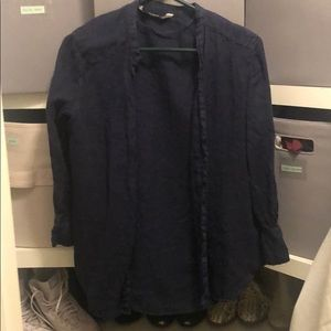 Zara basic button up- worn as a tunic typically